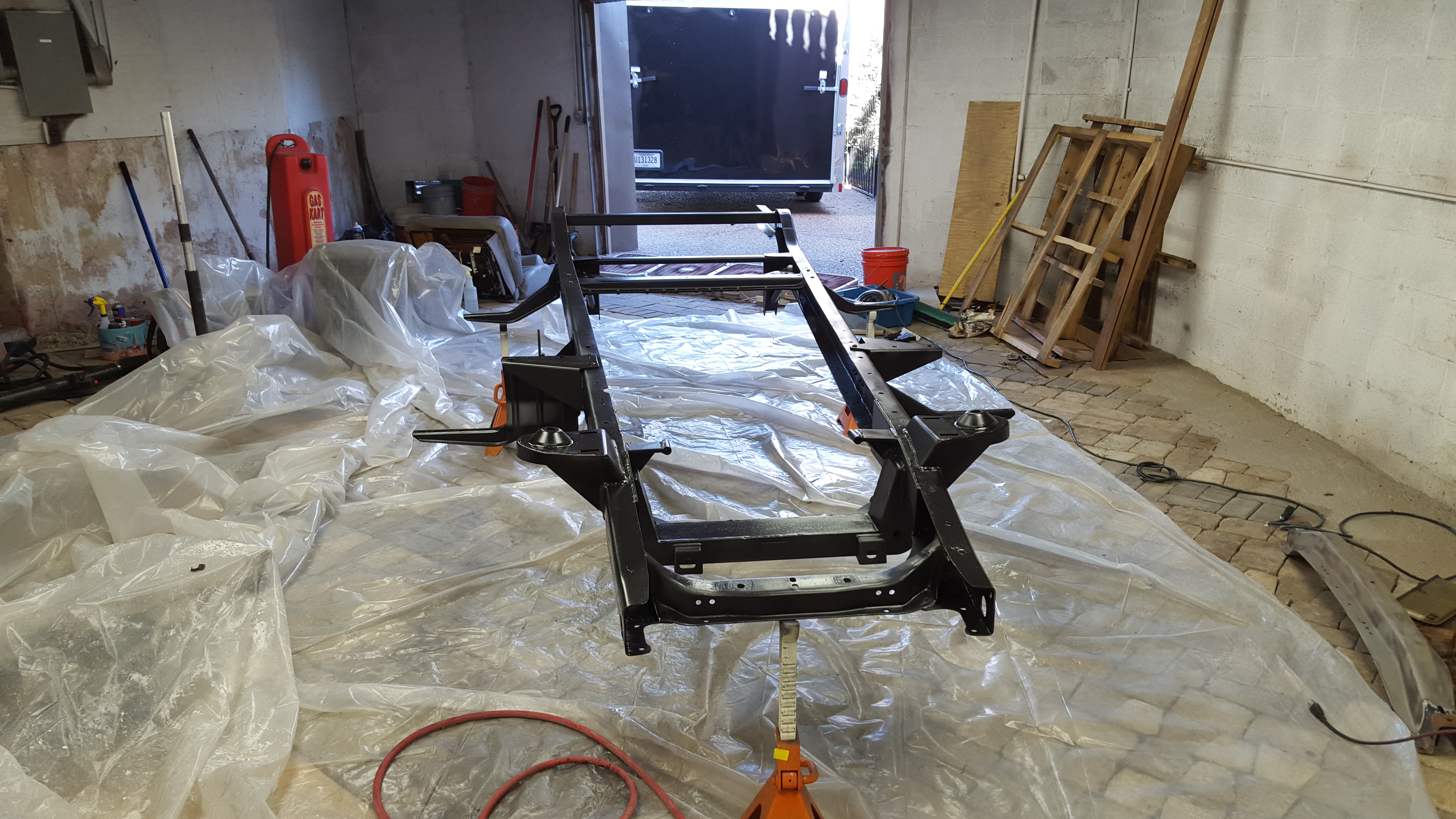 Project 5 Window Chassis Update | Full Octane Garage