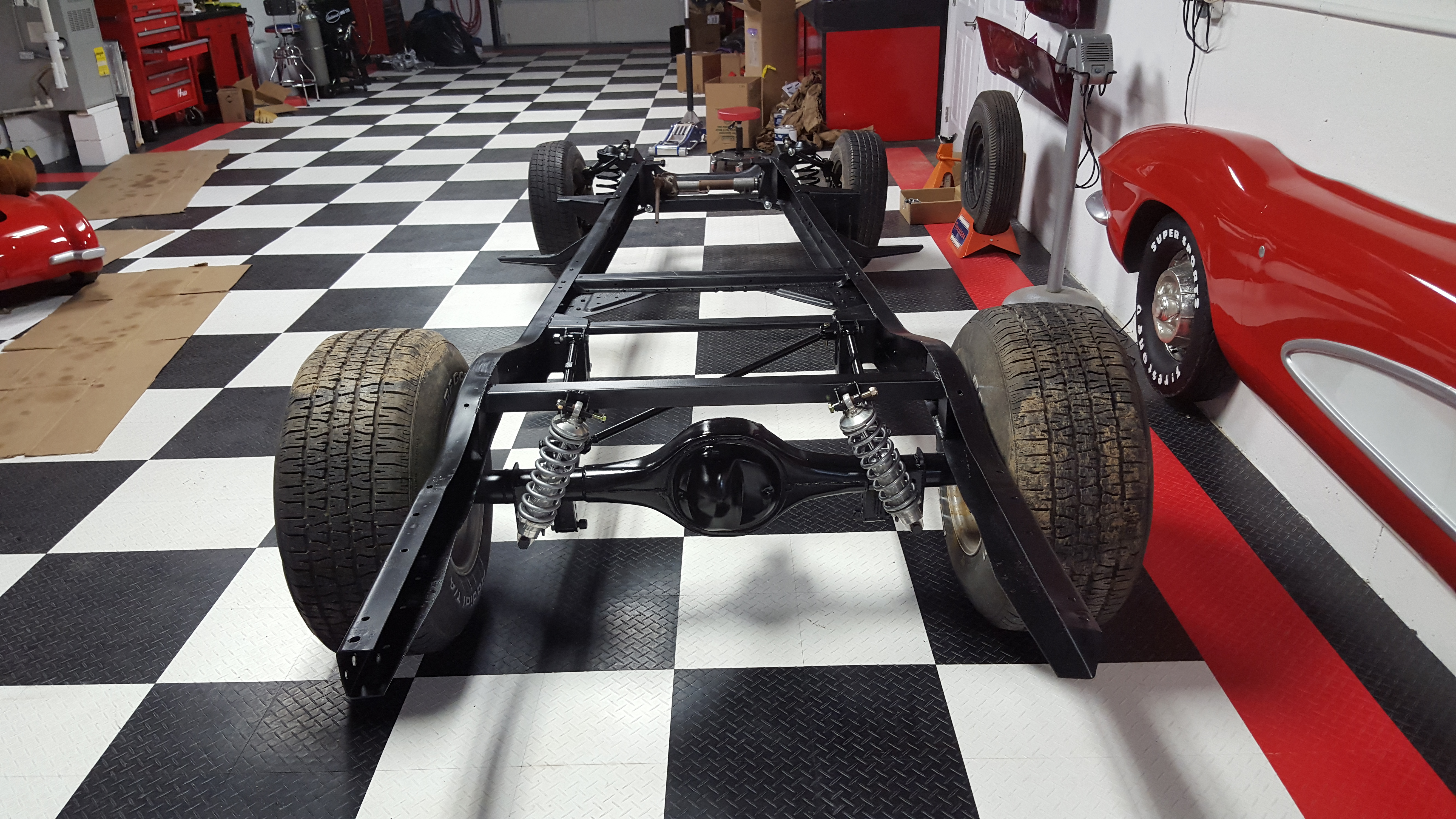 Project 5 Window Chassis Update   Full Octane Garage