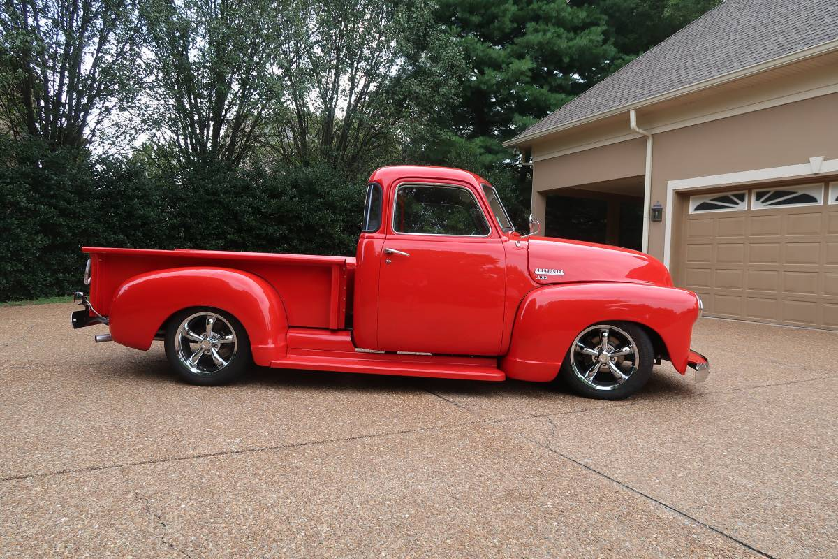 1950 Chevy Truck Archives Full Octane Garage 1964 Inner Fender This Is Basically A New That Runs And Drives Like Modern Car