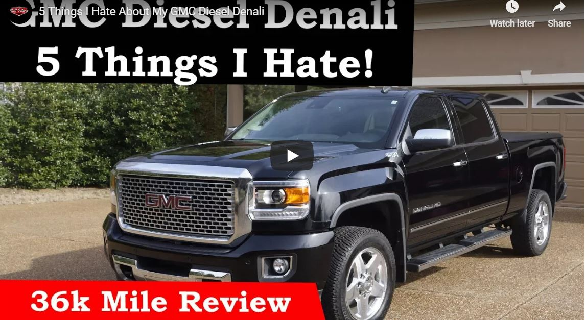 5 Things I Hate About My GMC Diesel Denali | Full Octane Garage