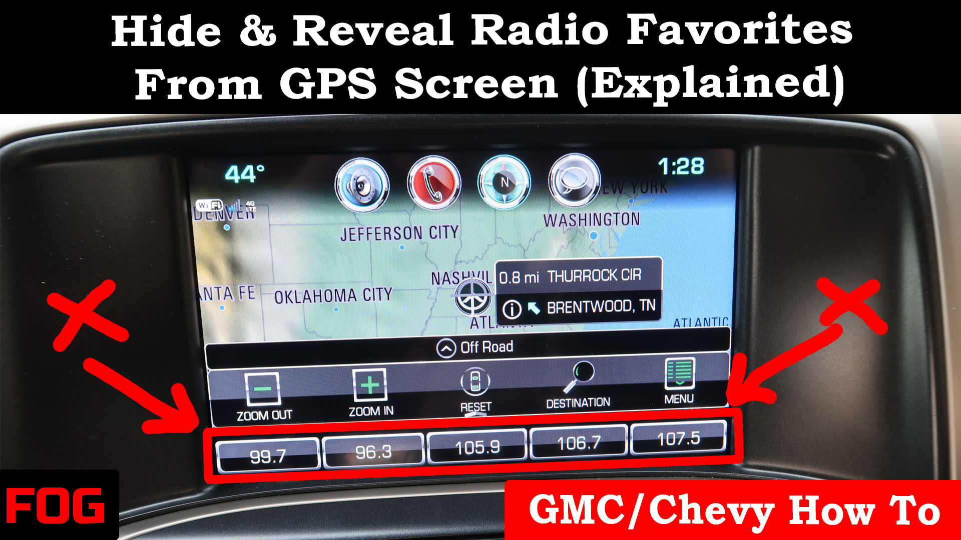 GMC/Chevy Hide Or Reveal Radio Favorites (Explained) | Full Octane